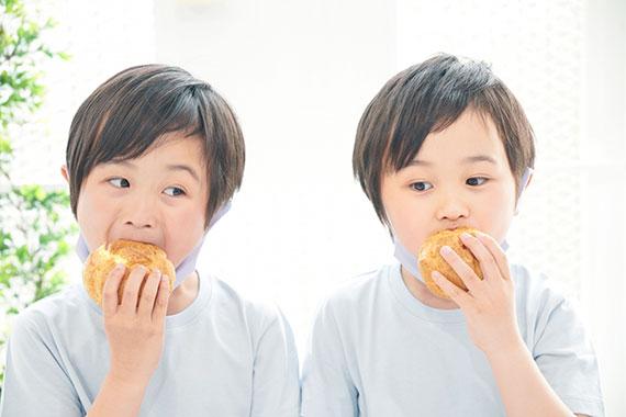 お子様も安心して食べられるパン